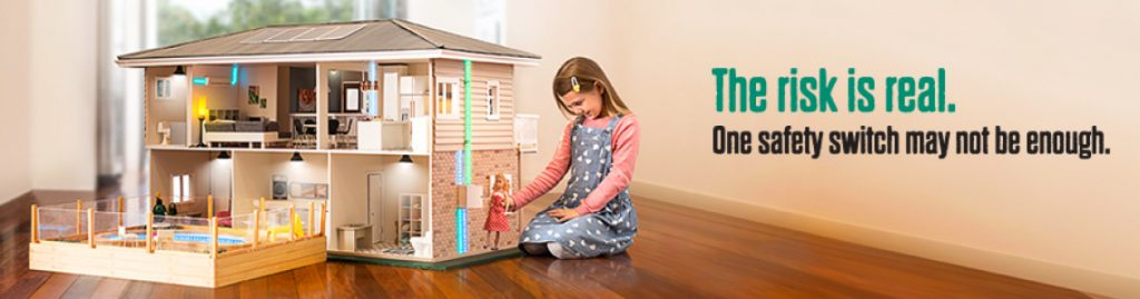 modern homes wiring safety switch